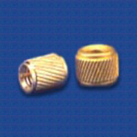 BRASS INSERTS HELICAL KNURLED INSERTS